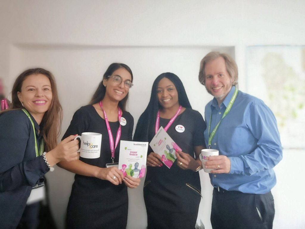 Healthwatch Croydon team